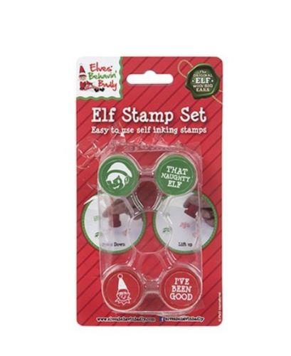 Elf Stamper Set Free Postage